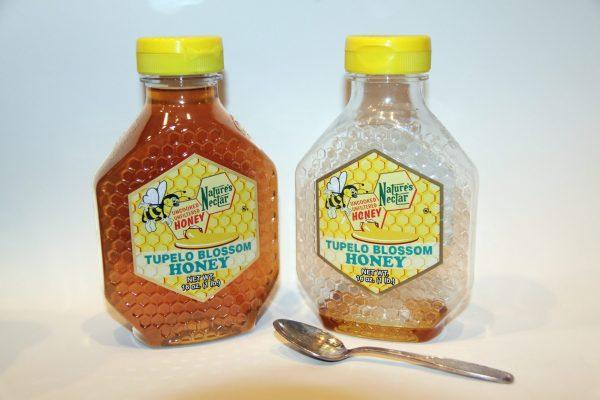 Tupelo Honey, Bee Natural Honey,Remarkable pleasant flavor