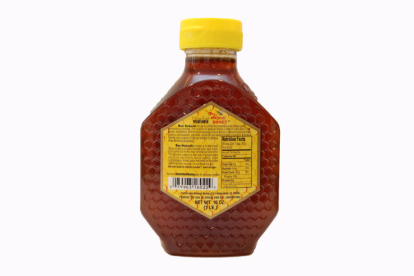 Bee Natural Honey Wildflower honey 16 oz