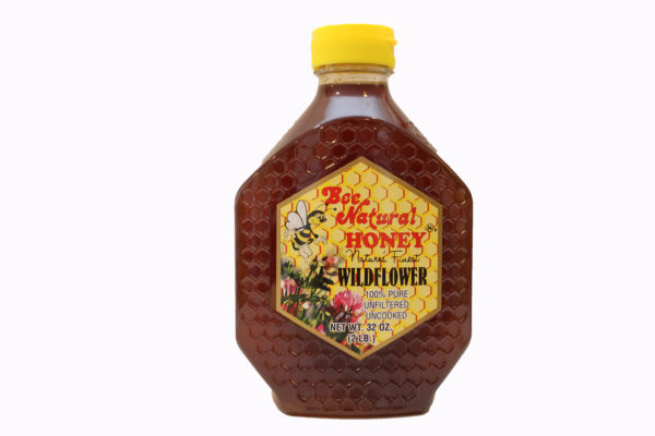 Bee Natural Honey Wildflower honey 32 oz