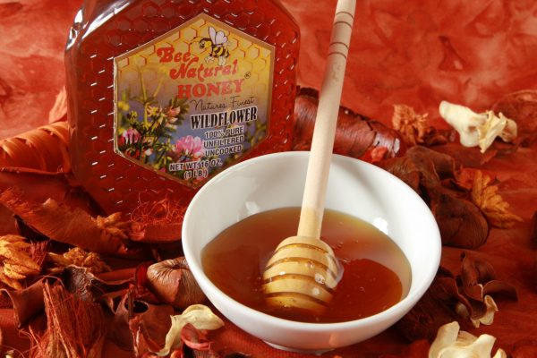Case of 12 Wildflower Honey 16oz bottles 11