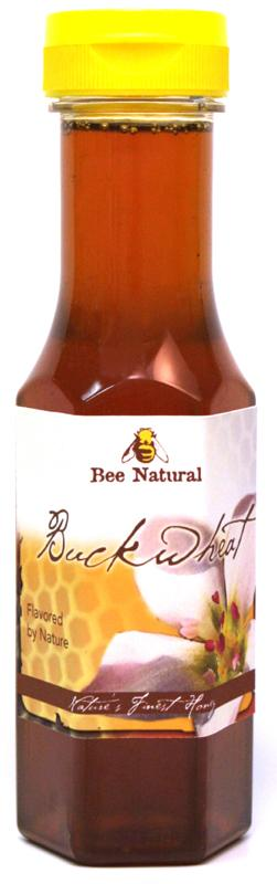 Case of 12 Buckwheat Honey 12oz bottles 2
