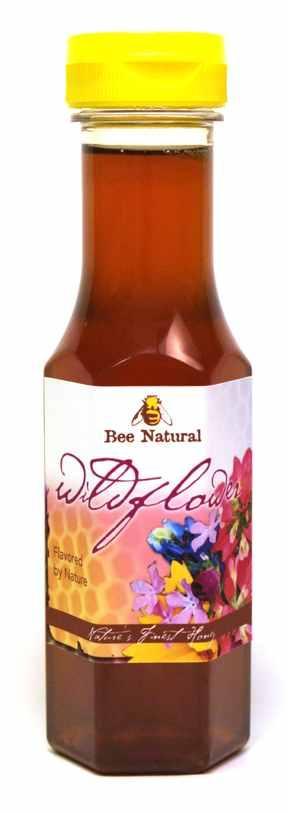 Case of 12 Wildflower Honey 12oz bottles 3