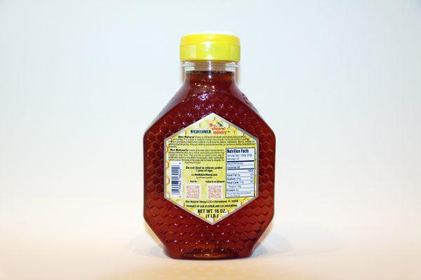 Case of 12 Wildflower Honey 16oz bottles 4