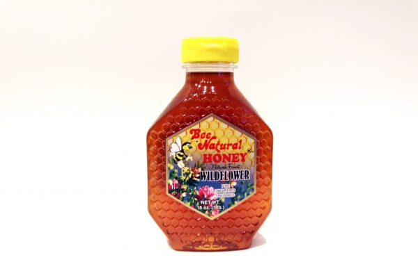 Case of 12 Wildflower Honey 16oz bottles 3