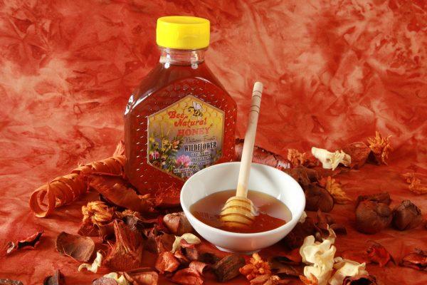 Case of 12 Wildflower Honey 16oz bottles 10