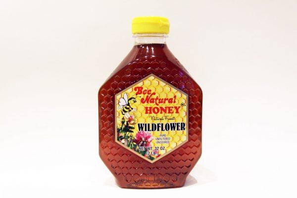 Bottle of Wildflower Honey 32oz 3