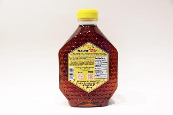 Bottle of Wildflower Honey 32oz 4