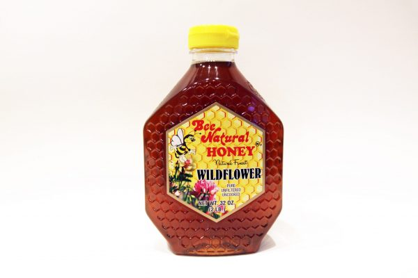 Bottle of Wildflower Honey 32oz 2
