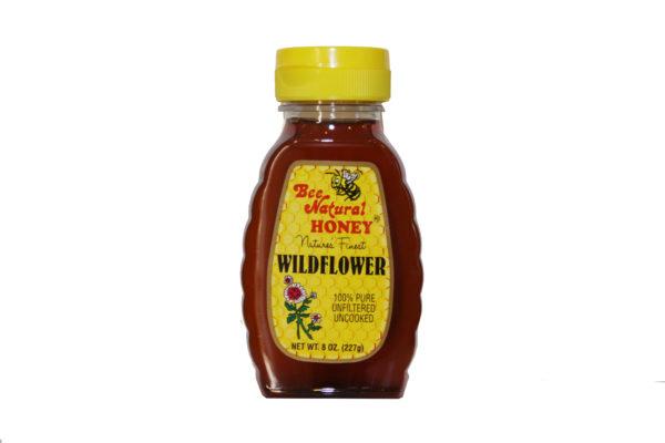 Bottle of Wildflower Honey 8oz 2