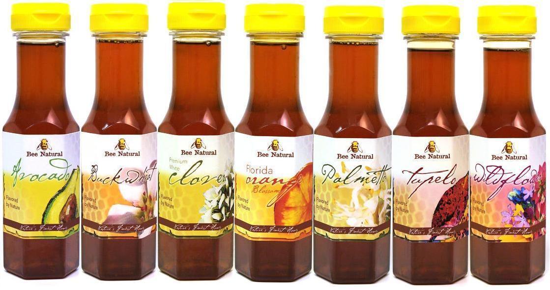 Bee Natural Honey Variety