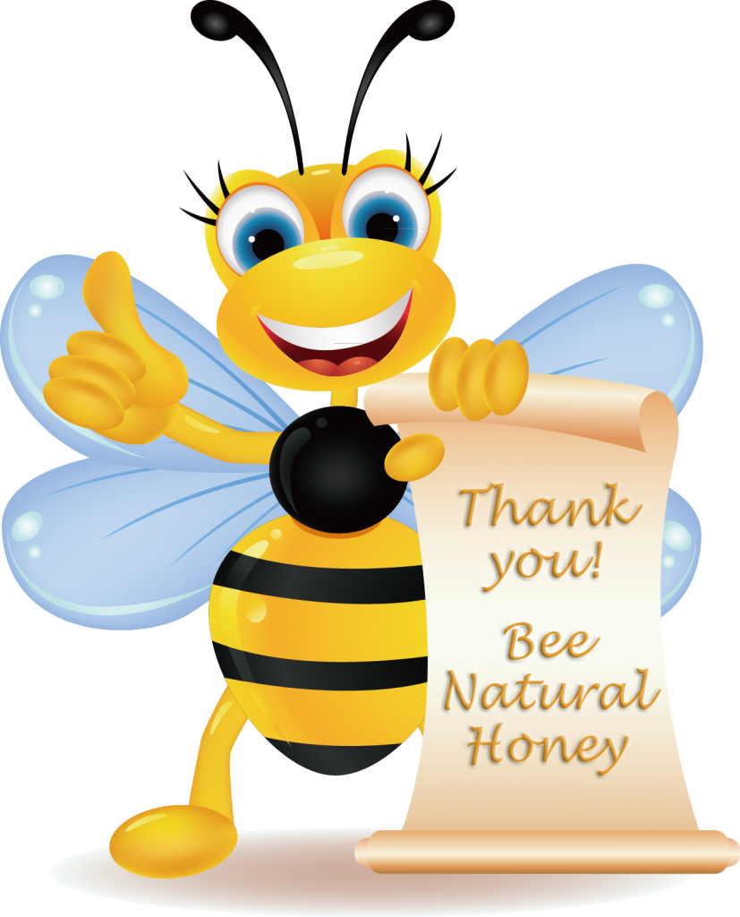 Thank you, Bee Natural Honey, BeeNaturalHoney.com