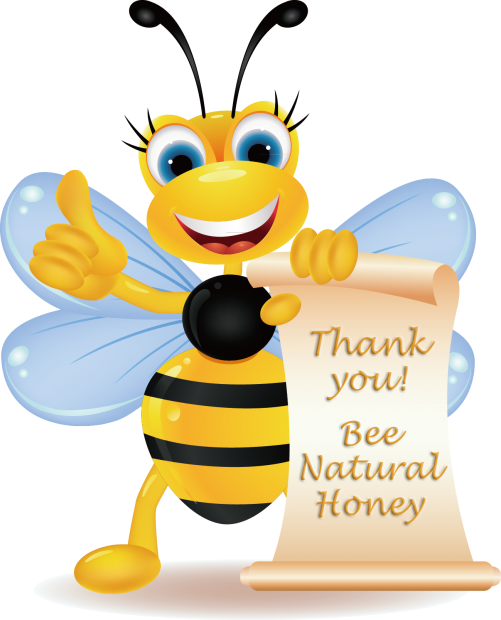 Thank you, Bee Natural Honey, BeeNaturalHoney.com