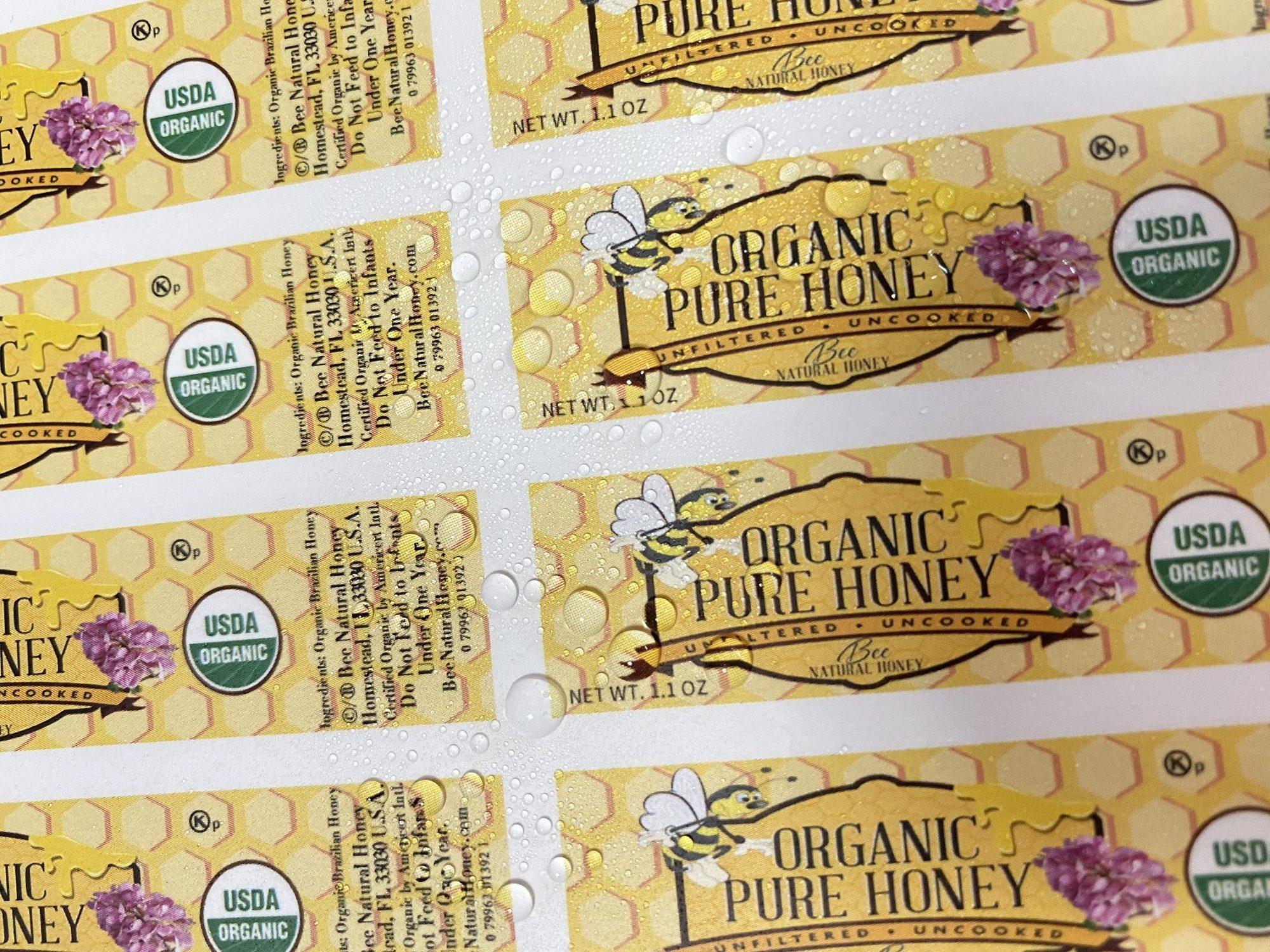 CERTIFIED USDA Organic honey